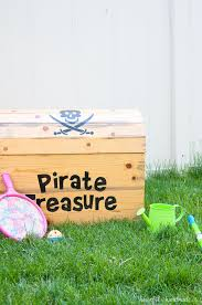Plans To Build A Toy Box by Diy Treasure Chest Toy Box A Houseful Of Handmade