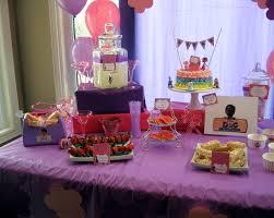 doc mcstuffins birthday party table decor doc mcstuffins