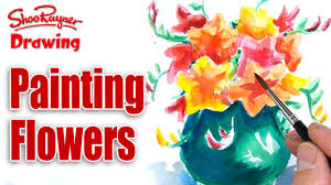 painting flowers for mother u0027s day youtube