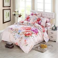 Flower Bed Sets Flower Bedding Vintage Peony Watercolor Flower