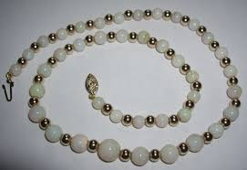 gold crystal beaded necklace images Jewels collecting dust beads jpg