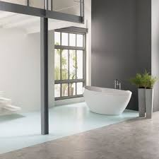 Bathroom Flooring Ideas Concrete Floor Bathroom Zamp Co