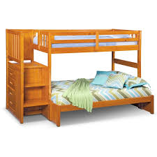 Bunk Bed Storage Stairs Ranger Bunk Bed With Storage Stairs Pine Value