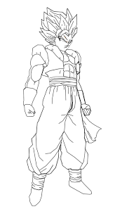 13 images of dbz gogeta coloring pages dragon ball z gogeta
