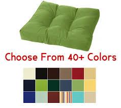 Ottoman Cushions Tufted Ottoman Cushion 21 X 17 Choose Your Color
