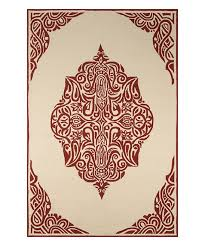 Medallion Outdoor Rug Red Henna Medallion Indoor Outdoor Rug Henna Rugs And Red