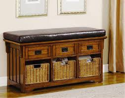 Bench With Shoe Storage Small Entryway Shoe Storage Ideas