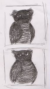 rose and the bluedoor owl sketches 2011