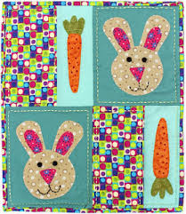 michele bilyeu creates with and free easter quilt