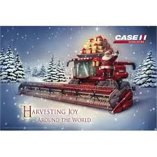ih combine holiday poster