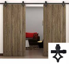 7 5ft to 15ft big sliding barn door track rustic black country