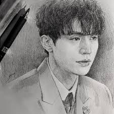 goblin fan u0027s beautiful character sketches of hit show go viral in