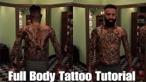 full body tattoo nba 2k16 download how i did my tattoos nba 2k17 tattoos tutorial