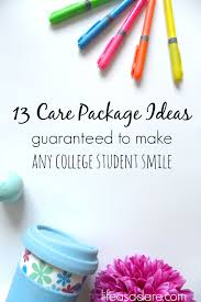 college care package ideas 13 college care package item ideas as a