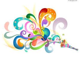 Colorful Designer | 4 designer colorful pattern design vector material