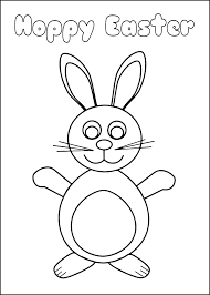 free easter coloring cards educational printables