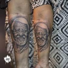 done at pune tattoo convention 2014 colourtattoo kathakali