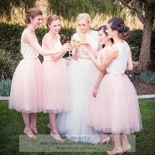 tulle skirt bridesmaid 2016 pink bridesmaids tutu tulle skirt a line knee