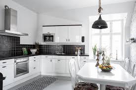 Scandinavian Home Design Combining White Black And Original Decor - Scandinavian home design