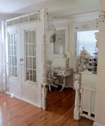 shabby chic doors vintage white door partition white shabby chic dresser table metal