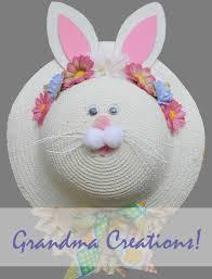 easter bunny hat entrance door remodelando la casa