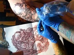 blue foo dogs foo dog tattoo symbolism and history