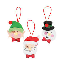 christmas character tea light ornament craft kit orientaltrading