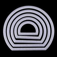 Embossing Templates Card Making - 8pcs set square circle metal cutting dies stencil for diy