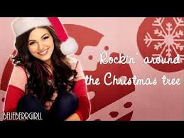 rockin around the christmas tree victoria justice youtube
