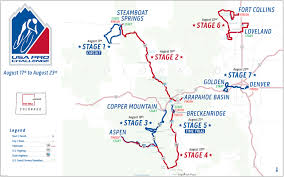Colorado Us Map by Usa Pro Challenge Stage 7