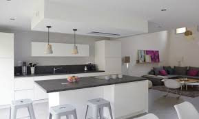 peinture cuisine gris peinture pour cuisine blanche moderne en nuances du gris