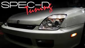 Honda Prelude New Specdtuning Installation Video 1997 2001honda Prelude Headlights