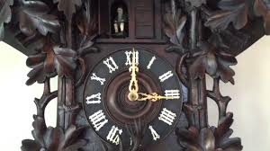 Antique Cuckoo Clock Large 3 Ft Heavily Carved Antique Black Forest Cuckoo Clock Circa