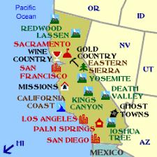 california map national parks 50 plus dc redwood national park