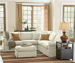 Sectional Pottery Barn Slipcovered Look 4 Less And Steals And Deals