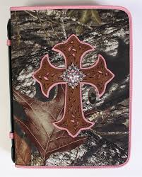 mossy oak camo bible cover large fort brands