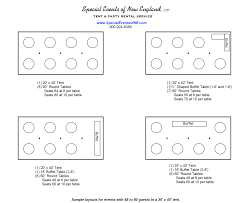 round table number of seats tent layout options get the right tent for your event