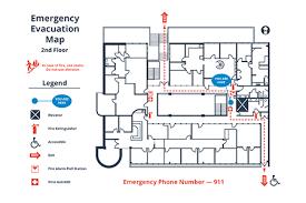 fire evacuation floor plan how to create a simple building evacuation diagram