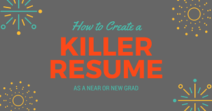 Physician Assistant Student Resume How To Create A Killer Resume As A Near Or New Grad Be A