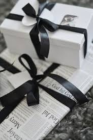 black gift wrap gift wrapping with string or cord can be easy box string tag
