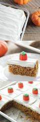 Pumpkin Sheet Cake Bars Baked In Az