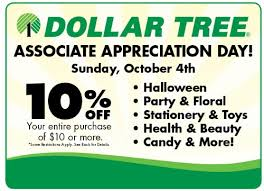dollar tree store coupon 10 entire purchase