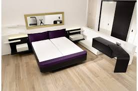 White Solid Wood Bedroom Furniture by Bedroom Furniture Black Bed Frame Combined With White Solid Wood