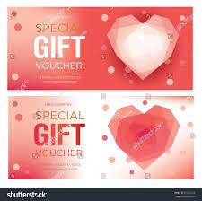 Salon Invitation Card Gift Certificate Gift Card Gift Voucher Stock Vector 572021248