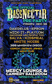 bassnectar nye poster bassnectar the official bassnectar nye pre party