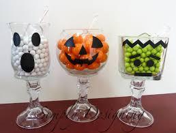 halloween candy vases