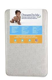Thin Crib Mattress On Me Foam Pack And Play Mattress Crib
