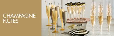 new years chagne glasses plastic chagne flutes wine glasses martini glasses party city