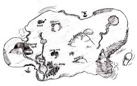 how to draw a map how to draw a pirate map draw by