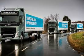 volvo trucks uk uk government announced 8 1 million to fund truck platooning